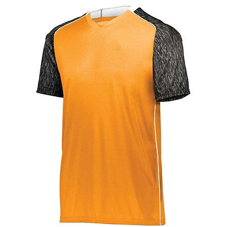 Youth Hawthorn Soccer Jersey Power Orange/black Print/white Single & Shorts