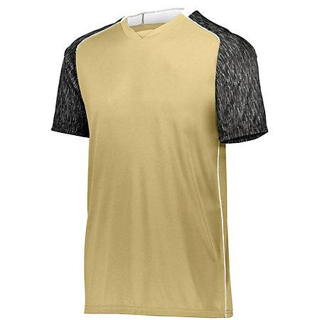 Youth Hawthorn Soccer Jersey Vegas Gold/black Print/white Single & Shorts