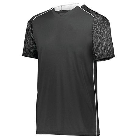 Youth Hawthorn Soccer Jersey Black/black Print/white Single & Shorts