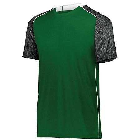 Hawthorn Soccer Jersey Forest/black Print/white Adult Single & Shorts