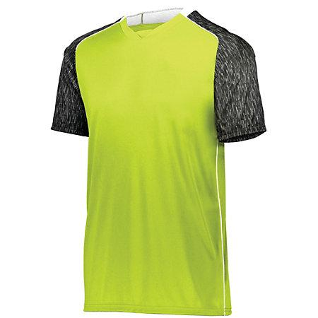 Hawthorn Soccer Jersey Lime/black Print/white Adult Single & Shorts