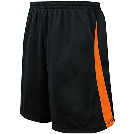 Albion Shorts Jersey de fútbol adulto negro / naranja Single &