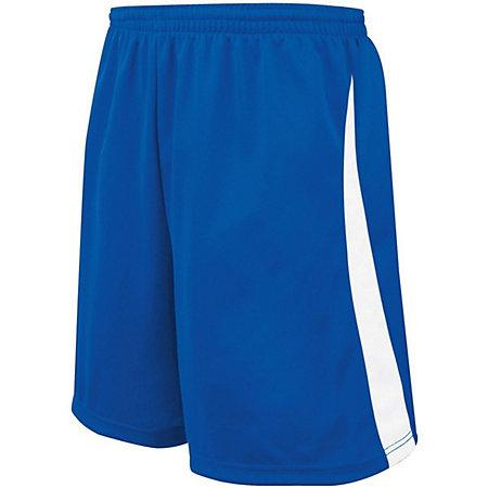 Youth Albion Shorts Royal/white Single Soccer Jersey &