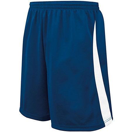 Youth Albion Shorts Navy/white Single Soccer Jersey &