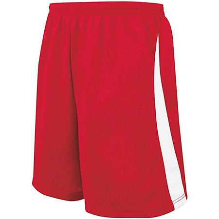 Youth Albion Shorts Scarlet/white Single Soccer Jersey &