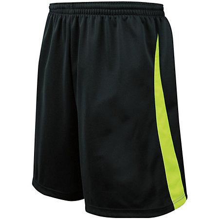 Youth Albion Shorts Black/lime Single Soccer Jersey &