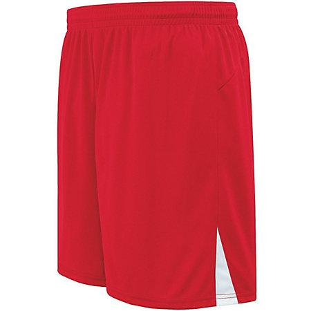 Hawk Shorts Scarlet / white Adult Single Soccer Jersey &