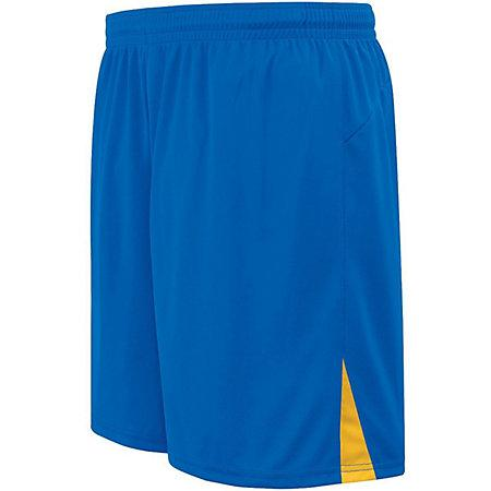Hawk Shorts Royal / athletic Gold Adult Single Soccer Jersey y