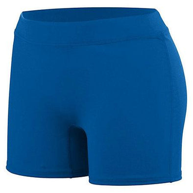 Girls Knock Out Shorts Royal Youth Volleyball