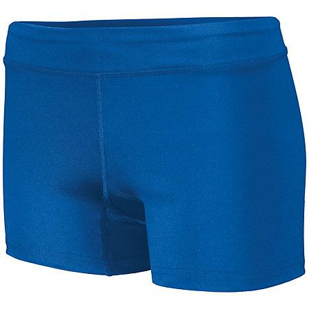 Shorts de voleibol Truth para mujer Royal Adult