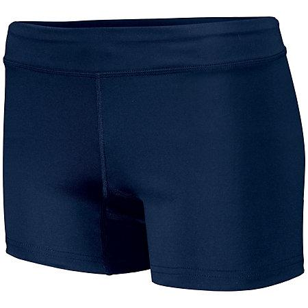 Girls Truth Volleyball Shorts Navy Youth