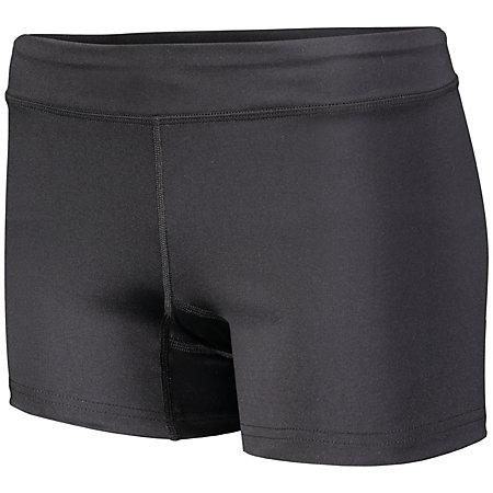 Girls Truth Volleyball Shorts Black Youth
