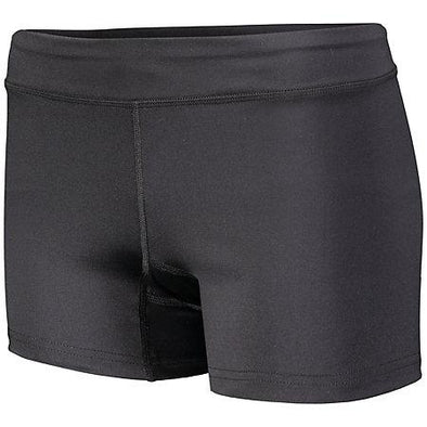 Ladies Truth Volleyball Shorts Black Adult
