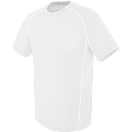 Evolution Short Sleeve White/white/white Adult Single Soccer Jersey & Shorts