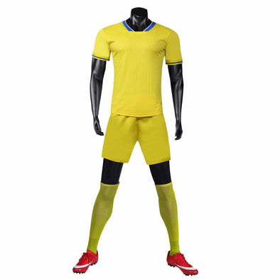 Yellow 159 Adult Soccer Uniforms