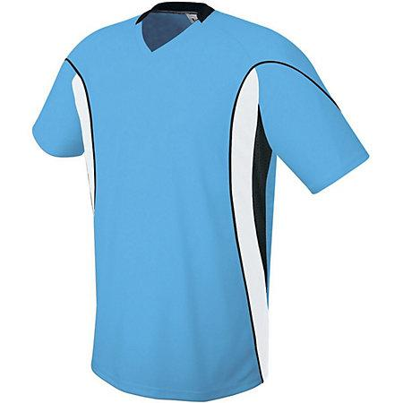 Helix Jersey Columbia Blue/white/black Adult Single Soccer & Shorts