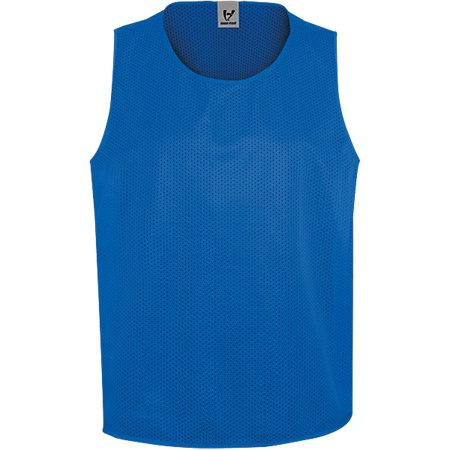 Youth Scrimmage Vest Royal Single Soccer Jersey & Shorts