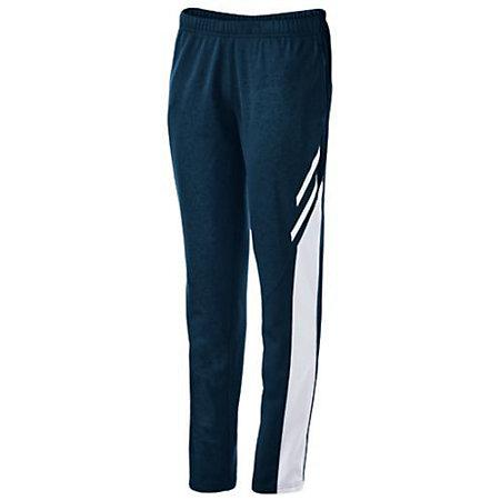 Ladies Flux Tapered Leg Pant Navy Heather/white/white Basketball Single Jersey & Shorts