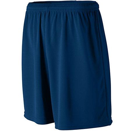 Wicking Mesh Athletic Shorts Navy Adult Baloncesto Single Jersey &