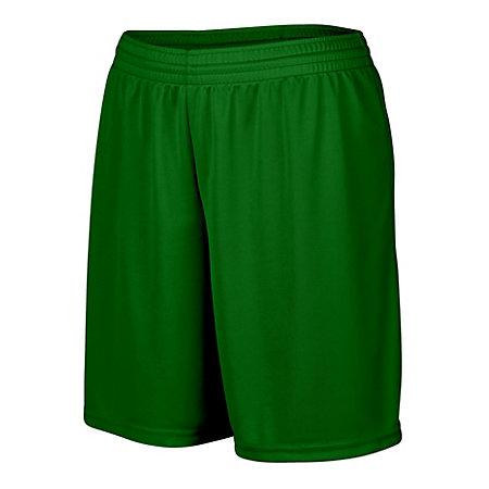 Ladies Octane Shorts Dark Green Softball
