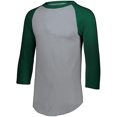 Baseball Jersey 2.0 Athletic Heather/dark Green Adult