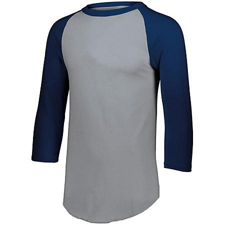 Baseball Jersey 2.0 Athletic Heather/navy Adult