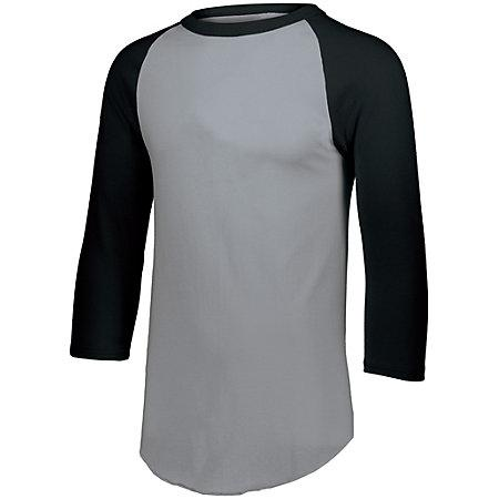 Baseball Jersey 2.0 Athletic Heather/black Adult