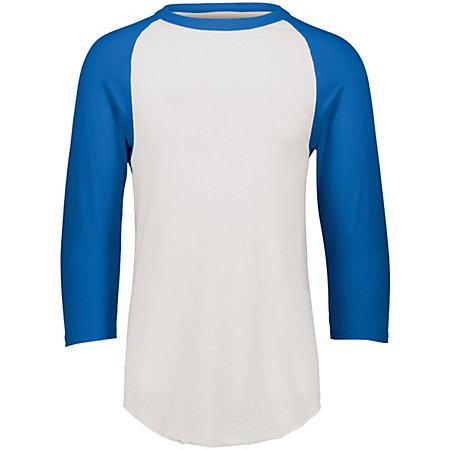 Baseball Jersey 2.0 White/royal Adult