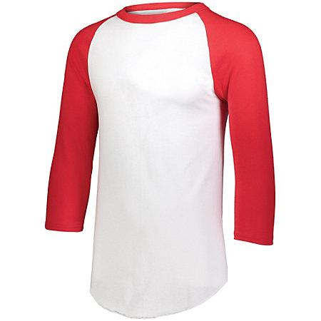 Baseball Jersey 2.0 White/red Adult