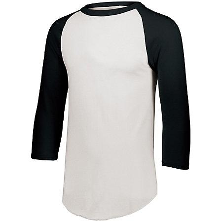 Baseball Jersey 2.0 White/black Adult