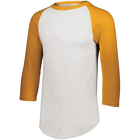 Baseball Jersey 2.0 White/gold Adult