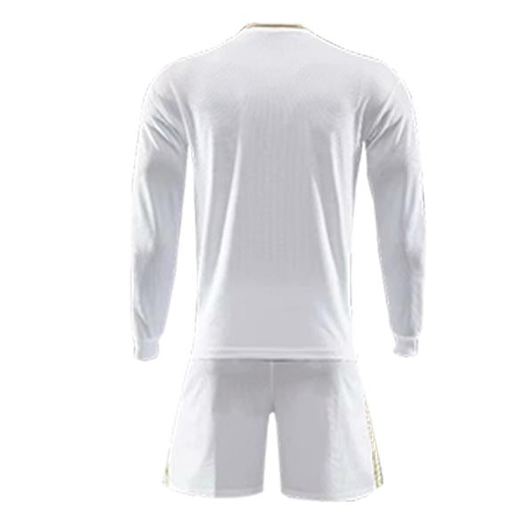 Galactico White Ls Adult Soccer Uniforms