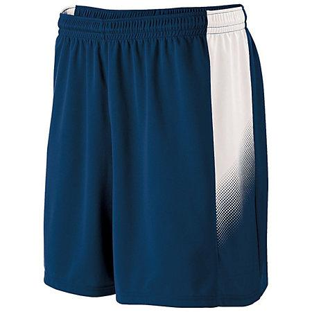 Youth Ionic Shorts Navy/white Single Soccer Jersey &