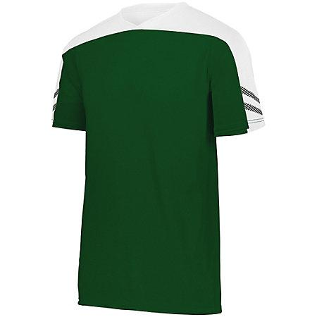 Youth Afield Soccer Jersey Forest/white/black Single & Shorts