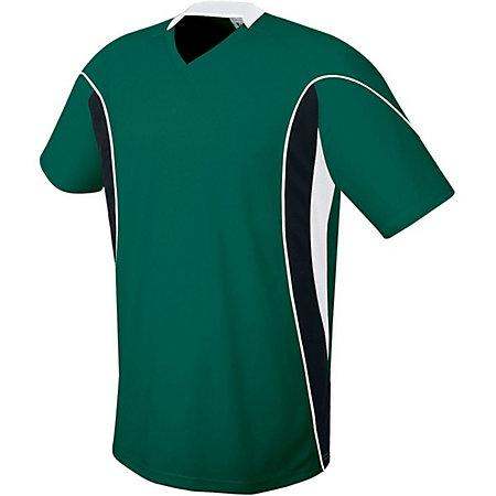 Helix Jersey Forest/black/white Adult Single Soccer & Shorts