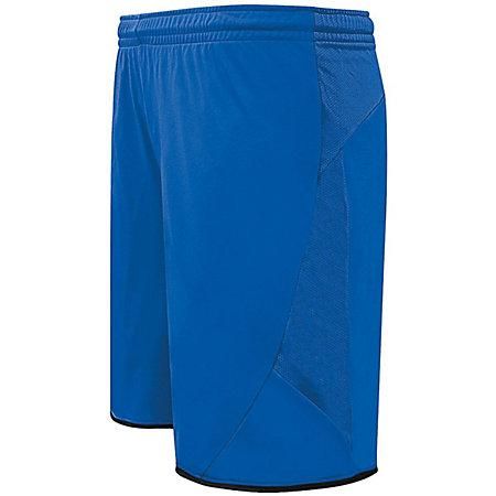 Club Shorts Royal/black Adult Single Soccer Jersey &