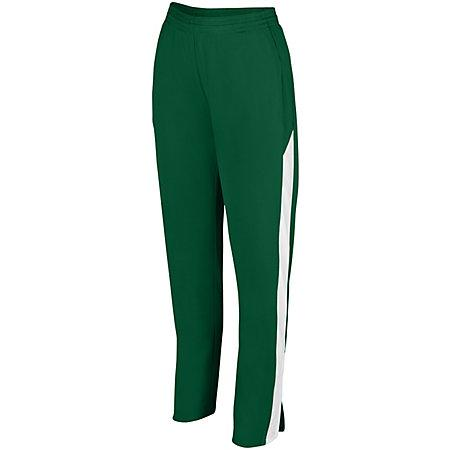Ladies Medalist Pant 2.0 Dark Green/white Softball