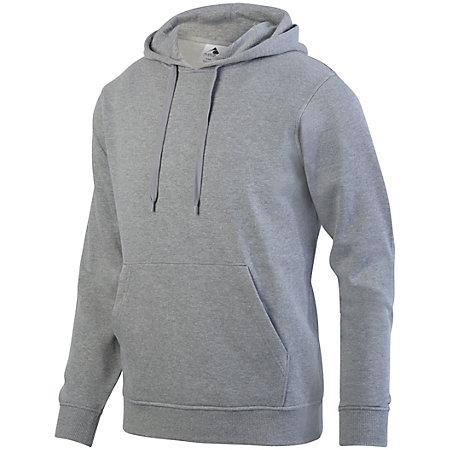 60/40 Fleece Hoodie Charcoal Heather Adult Baseball