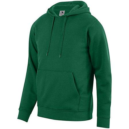 60/40 Fleece Hoodie Dark Green Adult Baseball