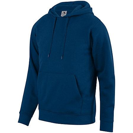 60/40 Fleece Hoodie Navy Adult Baseball