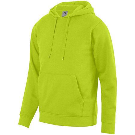 60/40 Fleece Hoodie Lime Adult Baseball