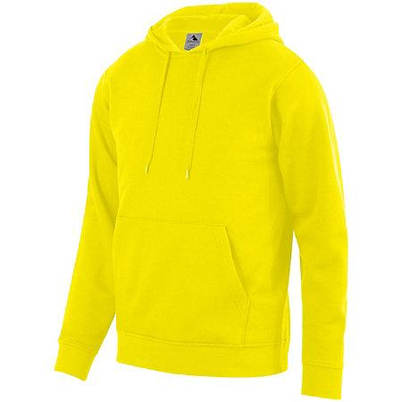 60/40 Fleece Hoodie Power Yellow Adult Baseball