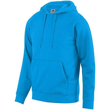 60/40 Fleece Hoodie Power Blue Adult Baseball