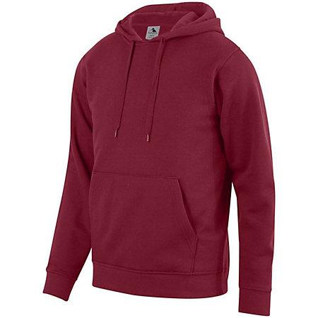 60/40 Fleece Hoodie Cardinal Adult Baseball