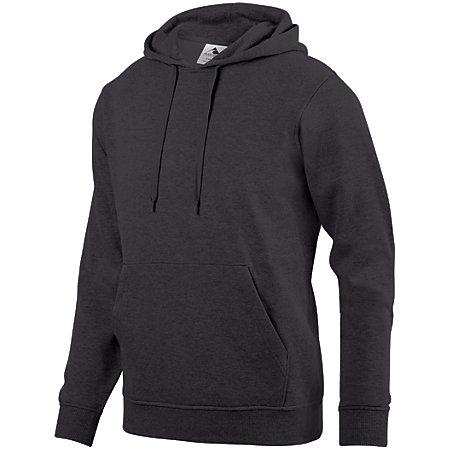 60/40 Fleece Hoodie Graphite Adult Baseball