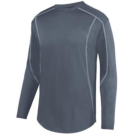 Edge Pullover Graphite/white Adult Baseball