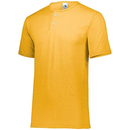 Two-Button Baseball Jersey Gold Adult