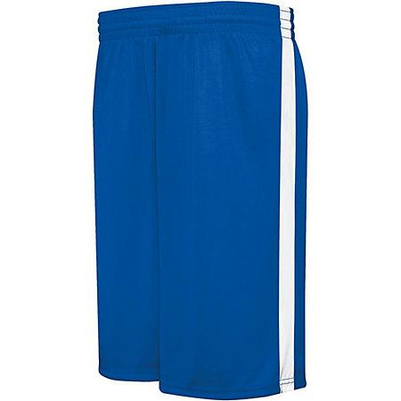 Competition Reversible Shorts Royal/white Adult Basketball Single Jersey &