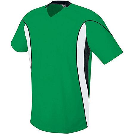 Helix Jersey Kelly/white/black Adult Single Soccer & Shorts