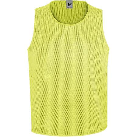 Youth Scrimmage Vest Lime Single Soccer Jersey & Shorts